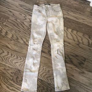 J Brand Jeans - white/ grey